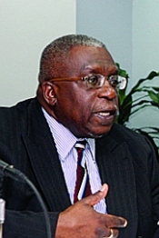 Ewart Williams, Governor of the Central Bank TT. Photo courtesy Trinidad Guardian.