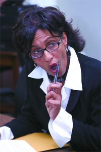 Karen Nunez-Tesheira, MP, Minister of Finance. Photo courtesy Trinidad Guardian