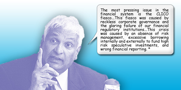 Winston Dookeran sounds off on CLICO