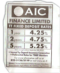 AIC advert