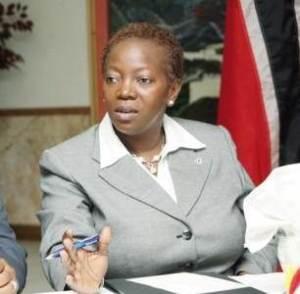 Dr. Emily Gaynor Dick-Forde, former Minister of Planning