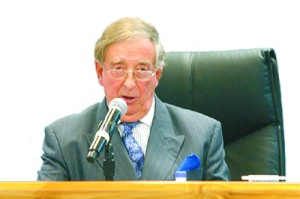 Sir Anthony Colman, QC. Photo courtesy Guardian Media Ltd.