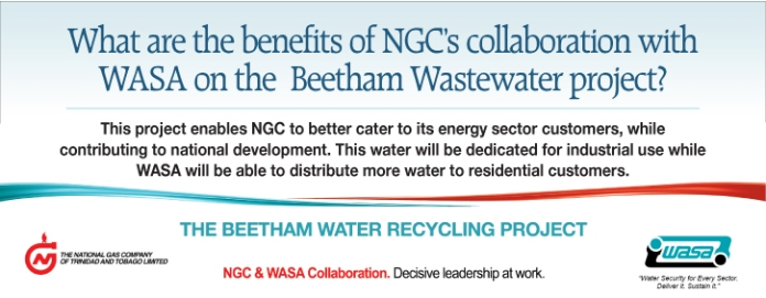 NGC Advertisement for Beetham Water Recycling Project – Benefits | March 2014
