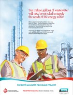 NGC Advertisement for Beetham Water Recycling Project – Energy Sector | March 2014