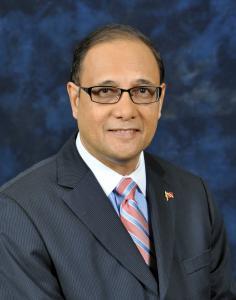 Sen. Larry Howai, Min of Finance
