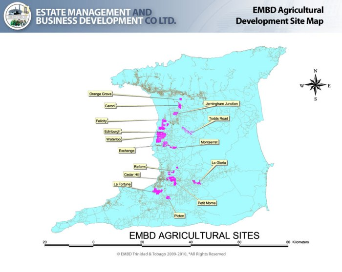 EMDB Agricultural Development Site Map