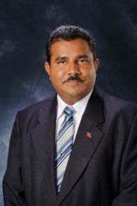 Hon. Jairam Seemungal, MP. Minister of Land and Marine Resources