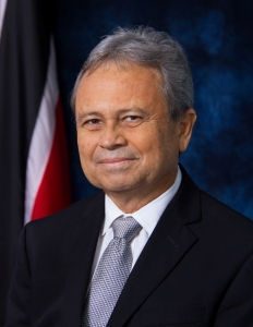 Min of FInance, Colm Imbert, MP