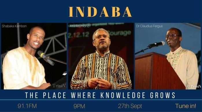 AUDIO: INDABA interview with Shabaka Kambon –27SEP2017