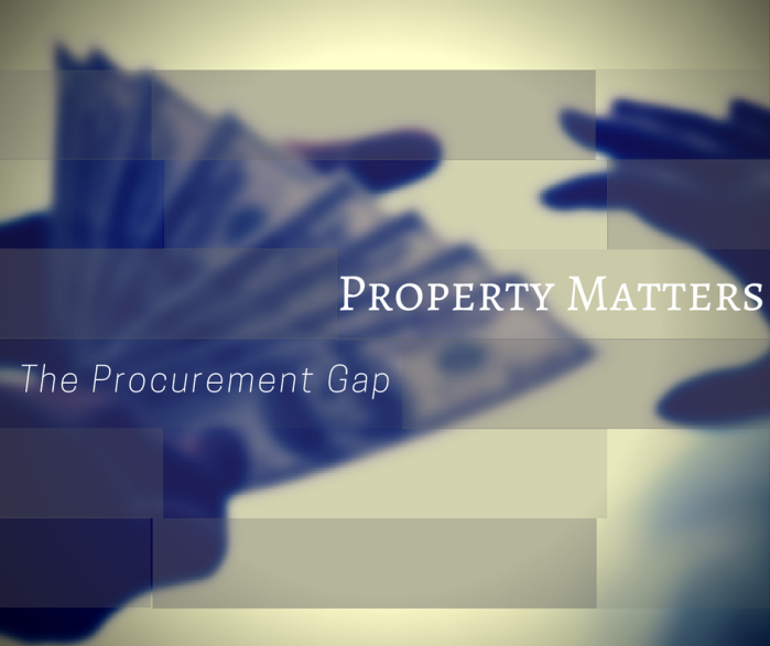 Property Matters – The Procurement Gap