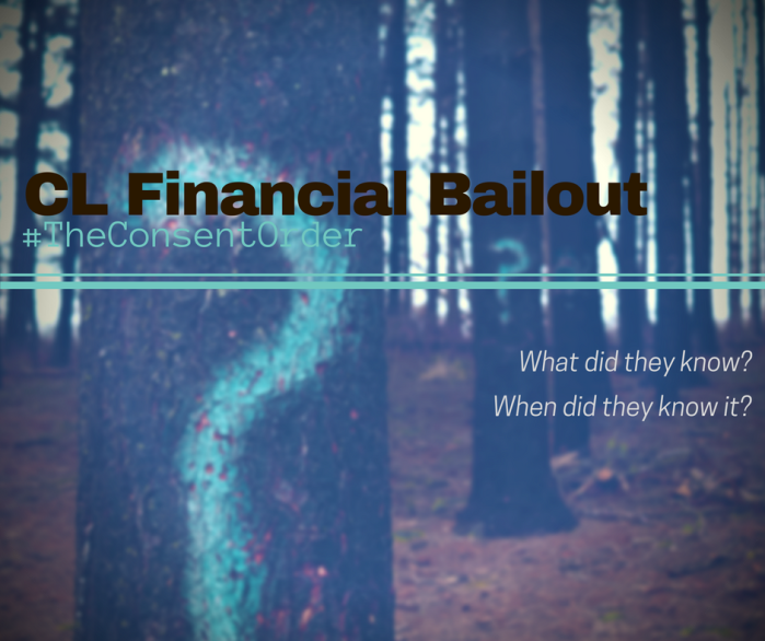 CL Financial bailout – the consent order, parttwo