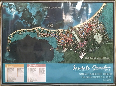 Sandals/Beaches Tobago Illustrative Master Plan