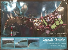 Sandals/Beaches Tobago Hotel Pads Bubble Diagram