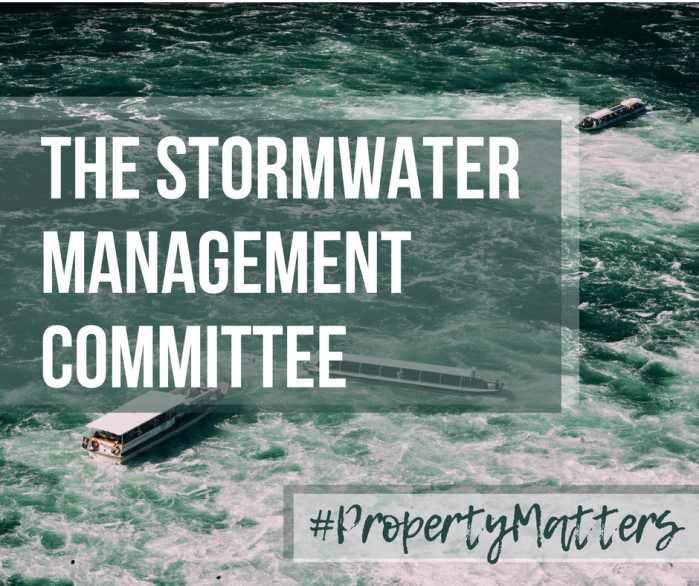 Property Matters – the Stormwater ManagementCommittee