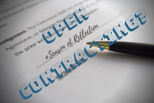Open Contracting?