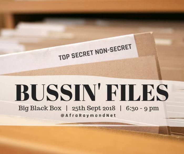 VIDEO: Bussin' Files 3: Our Season of Reflection in this Information War