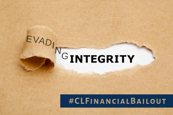 CL Financial bailout – EvadingIntegrity