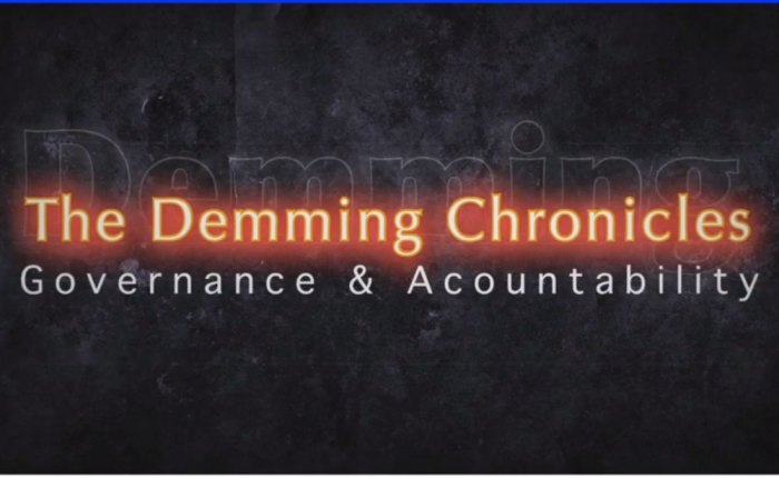 VIDEO: The Demming Chronicles – Governance in T&T